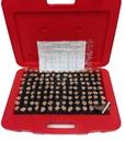 ABS Import Tools 125 PIECE M3 MINUS PIN GAGE SET .501-.625
