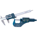ABS Import Tools DASQUA ELECTRONIC CALIPER & MICROMETER INSPECTION TOOL KIT (4209-1002)