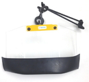 ABS Import Tools Swing-Away Safety Shield With Clamp (12 X 7 X 1/32 Inch)