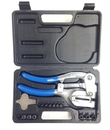 ABS Import Tools 17 PIECE METAL POWER PUNCH KIT WITH PUNCHES & DIES (7070-0016)