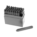 ABS Import Tools 1/8 WIDTH NUMBER & LETTER STAMP SET 0-9 AND A-Z (8016-0002)