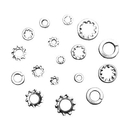 ABS Import Tools 720 PIECE WASHER ASSORTMENT SET (8070-0029)