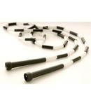 US Games 6' Segmented Skip Rope Black/White only