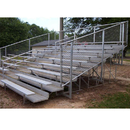 Alumagoal VIP Bleachers 8 Row/80 Seat/15'-Fence