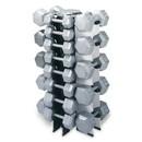 Champion Barbell 4 Sided Vertical Dumbbell Rack