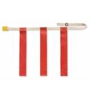 Triple Threat Triple Threat Flag Football Belts - Red
