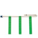 Triple Threat Triple Threat Flag Football Belts -Green