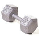 Champion Barbell Hex Dumbbell w/ Straight Handle 35 lb