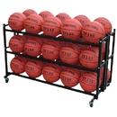 BSN Sports Double Monster Ball Cart