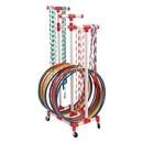 BSN Sports Jump Rope/Hoop Rack