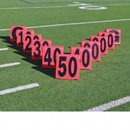 Pro Down Pro Down Day/Night Football Sideline Marker Set