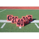 Pro Down Day/Night Sideline Markers 5pc