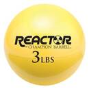 Champion Barbell Hand Held Fitness Ball 3lb YELLOW