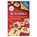 MERRIAM WEBSTER Scrabble Dictionary only
