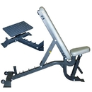 BSN Sports Multibench w/ Wheels and Spotters Stand