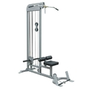 BSN Sports Champion Barbell Plate-Loaded Lat Pulldown/Low Row Machine