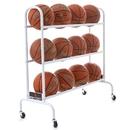 BSN Sports 12 Ball Wide Body Ball Cart