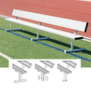 BSN Sports Players Benches with Back, 27', Surface Mount