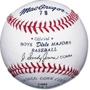 MacGregor #78 Official Dixie Boys & Majors Baseballs