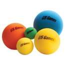 Us Games Economy Foam Balls - Uncoated 4&Quot; only