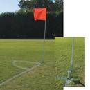 Alumagoal MSSOCFLGY Alumagoal Flexible Soccer Corner Flags only