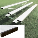 BSN Sports Standard Bleachers without Fencing, 21', 2 Row