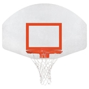 Porter Athletic Equi Aluminum Fan Backboard - Lifetime Rim