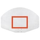 Porter Athletic Equi Aluminum Fan Backboard Only
