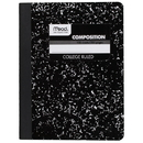 Mead Black Marble Composition Book - 1 Subject (09932)