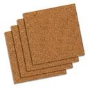 Quartet Natural Cork Tiles, 12