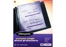 Wilson Jones Economy Weight Top-Loading Sheet Protectors, Clear, 50/Box, 21420