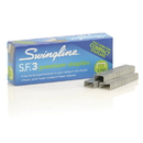 Swingline S.F. 3 Premium Staples, 1/4