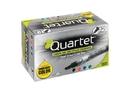 Quartet EnduraGlide Dry-Erase Markers, Chisel Tip, Assorted Colors, 12 Pack, 5001-18MA