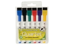 Quartet ReWritables Mini Dry-Erase Markers, Magnetic, Assorted Classic Colors, 6 Pack, 51-659312QA