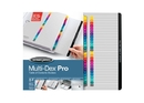 Wilson Jones MultiDex Pro Dividers, A-Z Tab Index, Multicolor Tabs, 54733N