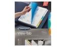 Wilson Jones View-Tab Transparent Dividers, 5-Tab Set, Square Multicolor, 5 Pack, 55565