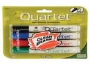 Quartet Low Odor Dry-Erase Markers, Chisel Tip, Assorted Colors, 4 Pack, 659510QA