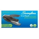 Swingline SmartTouch Compact Stapler, Reduced Effort, 25 Sheets, Black/Gray, 66508A
