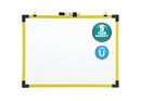 Quartet Industrial Magnetic Whiteboard, 24