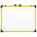 Quartet Industrial Magnetic Whiteboard, 6' x 4', Yellow Frame, 724127