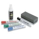 Quartet 4-Count Broad Dry-Erase Marker Kit, 1 Eraser, 2 oz. Spray Cleaner, 79548A