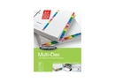 Wilson Jones MultiDex Dividers, 1-31 Tab Index, Multicolor Tabs, 90103B