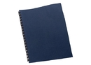 GBC Linen Weave Standard Presentation Covers, Square Corners, Navy, 200 Pack, 9742450