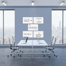 Quartet Continuum™ Magnetic Whiteboards, Wide Format, Frameless, Standard Board Size: 15