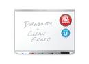Quartet Prestige 2 DuraMax Porcelain Magnetic Whiteboard, 4' x 3', Aluminum Frame, P554AP2