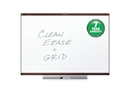 Quartet Prestige 2 Total Erase Whiteboard, 3' x 2', Mahogany Finish Frame, TE543MP2