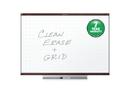 Quartet Prestige 2 Total Erase Whiteboard, 4' x 3', Mahogany Finish Frame, TE544MP2