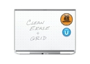 Quartet Prestige 2 Total Erase Magnetic Whiteboard, 3' x 2', Graphite Finish Frame, TEM543G