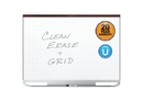 Quartet Prestige 2 Total Erase Magnetic Whiteboard, 4' x 3', Mahogany Finish Frame, TEM544M