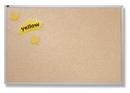 Quartet Vinyl Tack Bulletin Board, 4' x 4', White Vinyl with Aluminum Frame, VTA404W
